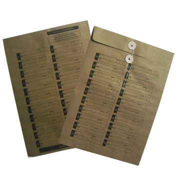 Imagem de ENVELOPE 26X36 KRAFT CORRESPOND.INTERNA C/BARBANTE SCRITY
