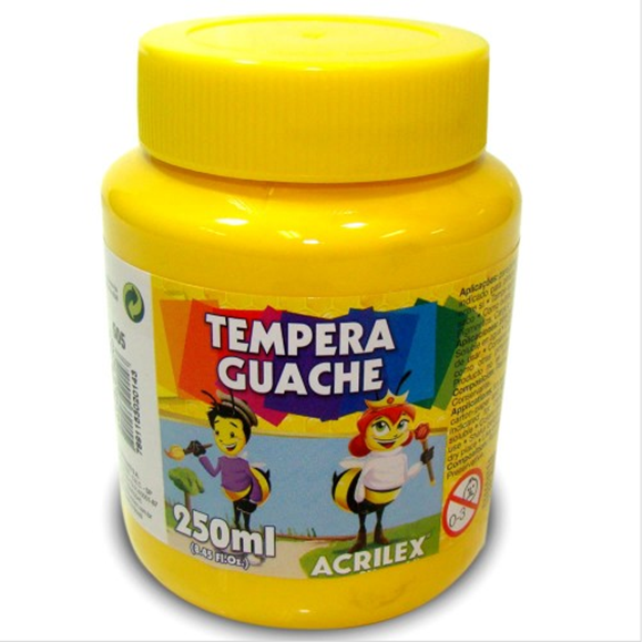 Picture of TINTA GUACHE 250ML AMARELO OURO ACRILEX
