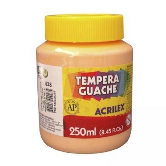 Picture of TINTA GUACHE 250ML AMARELO PELE ACRILEX