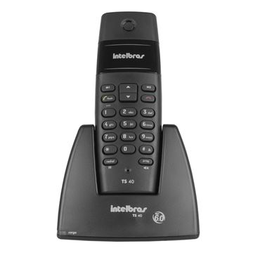 Imagem de TELEFONE SEM FIO 6.0 DIGITAL IDEAL TS 40 INTELBRAS