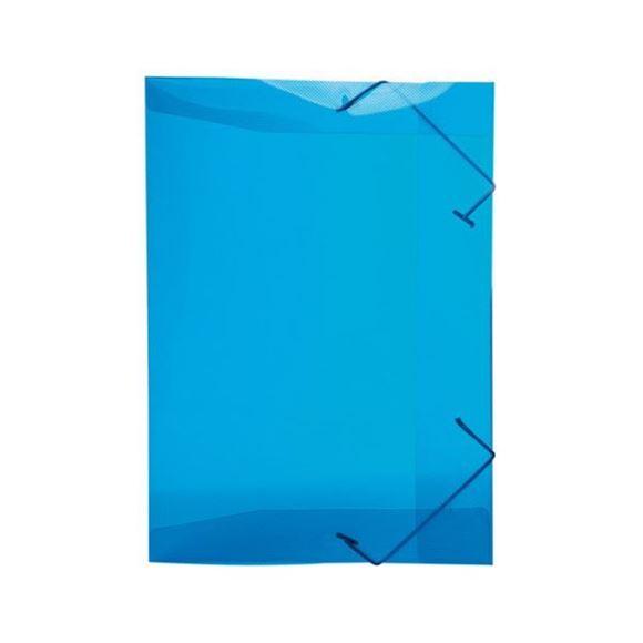 Picture of PASTA ABA ELASTICA PVC FINA 1/2 OFICIO LINE AZUL REF.252.C DELLO