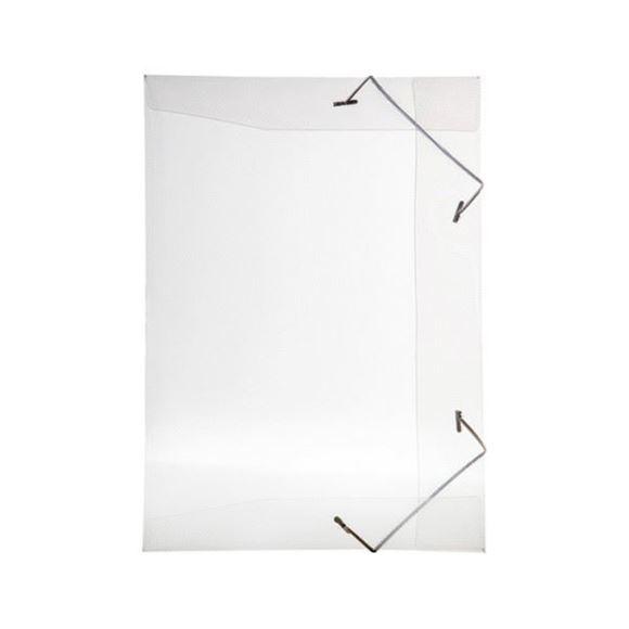 Picture of PASTA ABA ELASTICA PVC FINA 1/2 OFICIO LINE CRISTAL REF.252.H DELLO