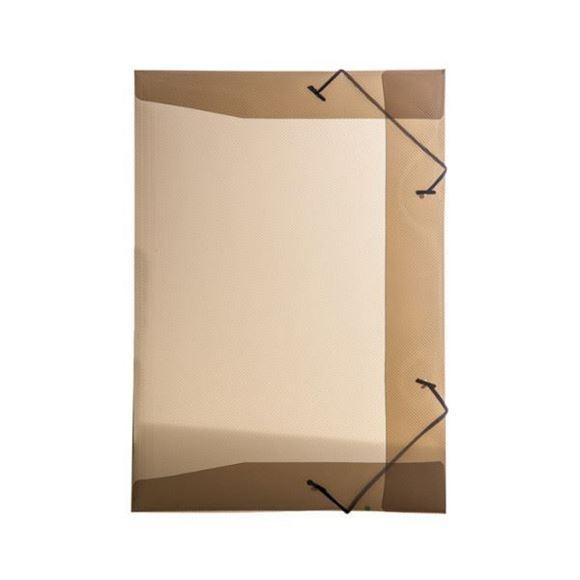 Picture of PASTA ABA ELASTICA PVC FINA 1/2 OFICIO LINE FUME DELLO