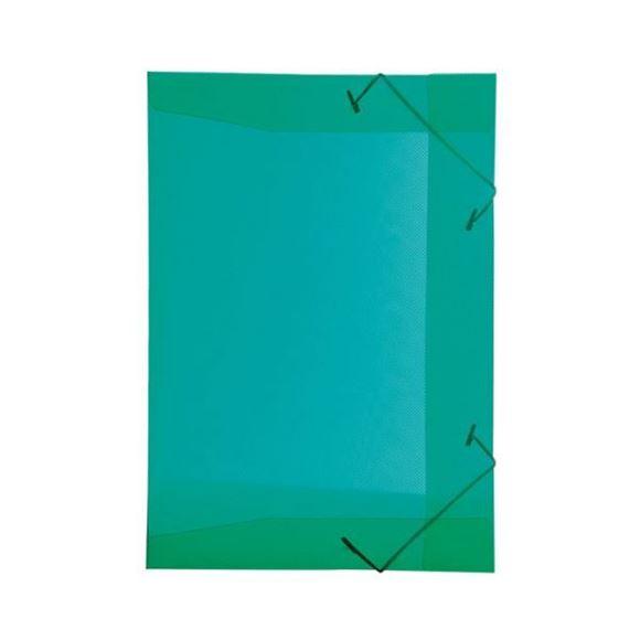 Picture of PASTA ABA ELASTICA PVC FINA 1/2 OFICIO LINE VERDE DELLO