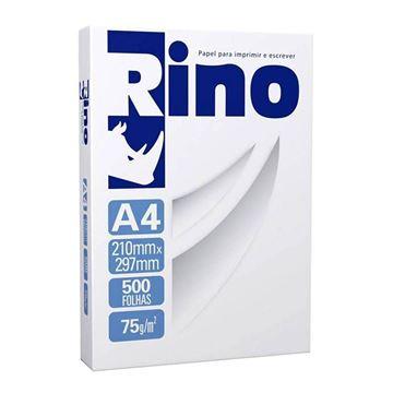 Imagem de PAPEL A4 210X297 75G/M 500F BRANCO RINO RS