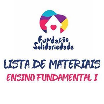 Imagem de KIT MATERIAIS ESCOLARES - ENSINO FUNDAMENTAL I